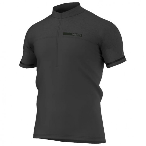 adidas - TX Climachill 1/2 Zip Tee - T-shirt