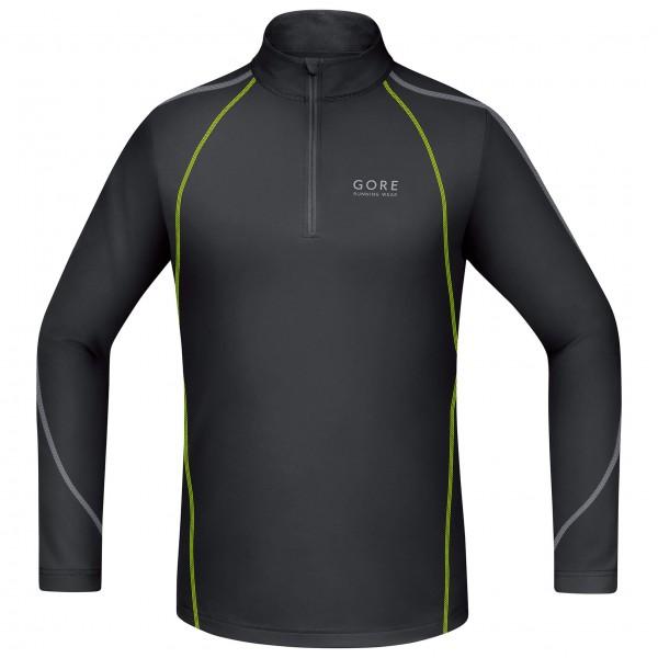 GORE Running Wear - Essential Zip Shirt Long - Juoksupaita