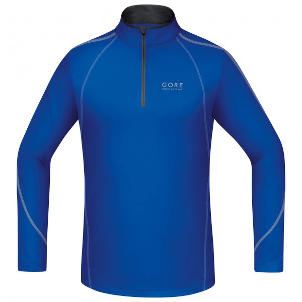 GORE Running Wear - Essential Zip Shirt Long - T-shirt de ru