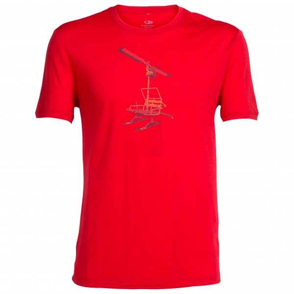 Icebreaker - Tech Lite S/S Crewe Chair Lifter - T-shirt