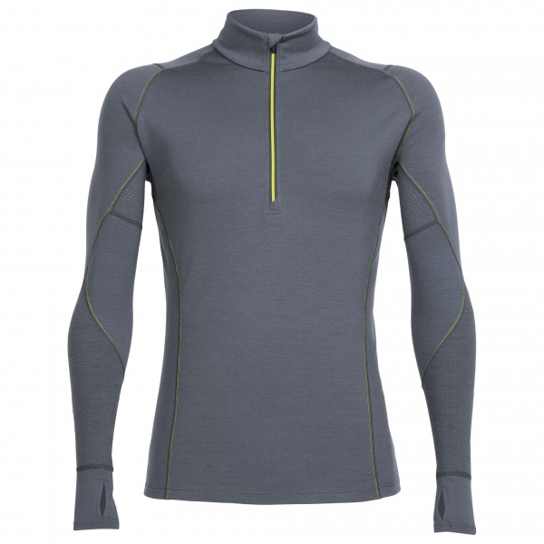 Icebreaker - Winter Zone L/S Half Zip - T-shirt de running