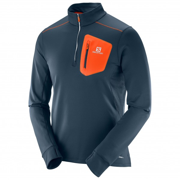 Salomon - Trail Runner Warm Mid - T-shirt de running