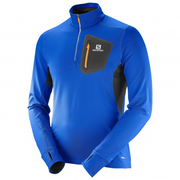 Salomon - Trail Runner Warm Mid - T-shirt de running