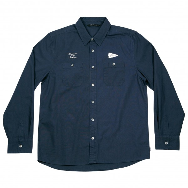 Poler - Yakow Long Sleeve Button Up - Paita