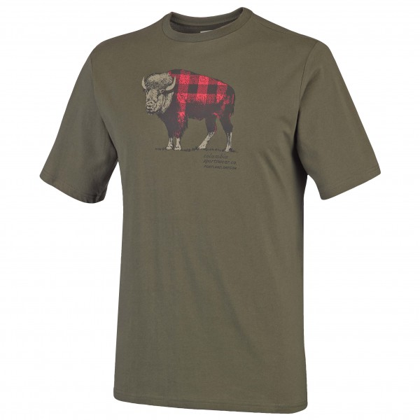 Columbia - CSC Check The Buffalo II Short Sleeve - T-skjorte