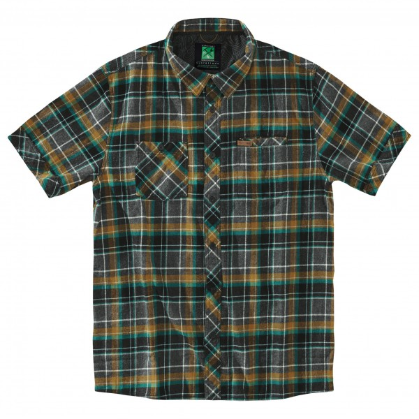 Hippy Tree - S/S Button Up Moab Flannel - Paita