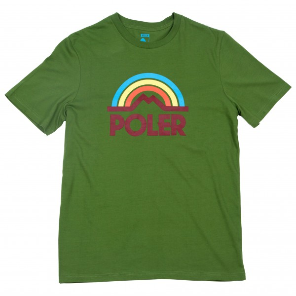 Poler - Mountain Rainbow Tee - T-paidat
