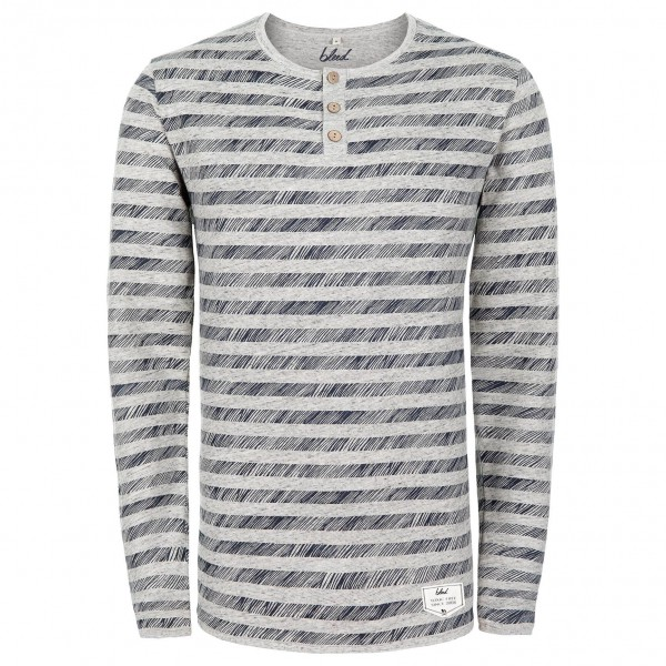 Bleed - Buttoned Longsleeve Striped - Manches longues