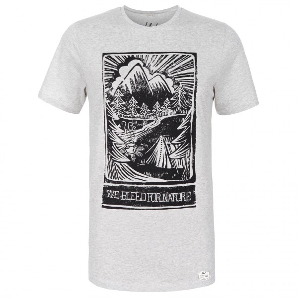 Bleed - Camping T-Shirt - T-paidat