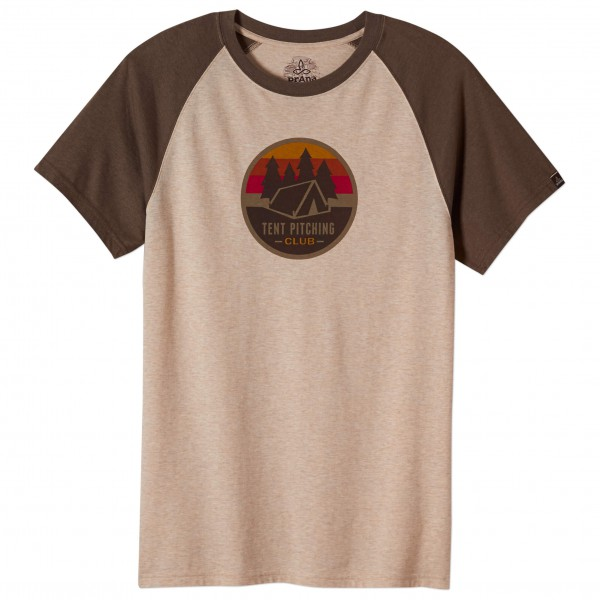 Prana - Tent Pitch Club Raglan - T-Shirt