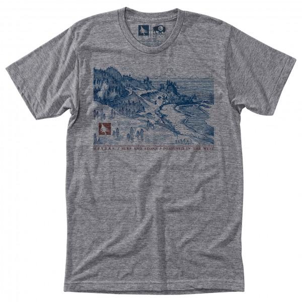 Hippy Tree - T-Shirt Coast - T-Shirt
