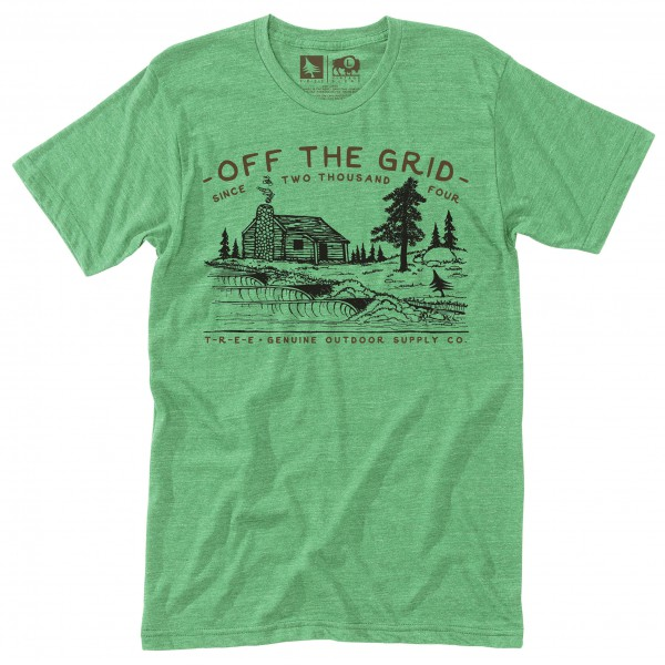 Hippy Tree - T-Shirt Streamside - T-paidat
