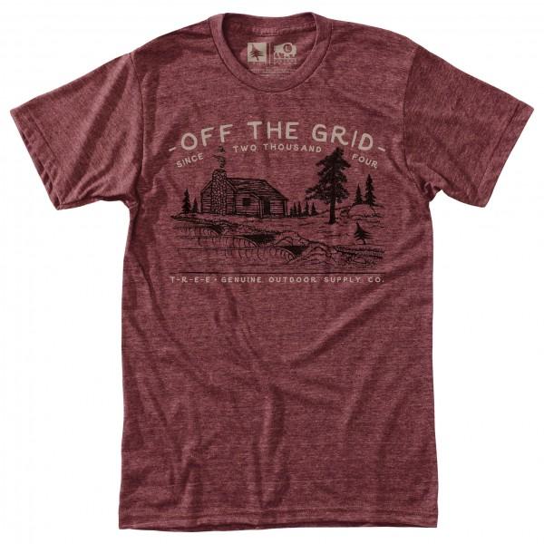 Hippy Tree - T-Shirt Streamside - T-paidat