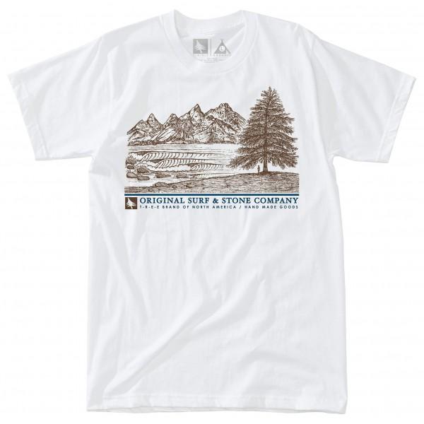 Hippy Tree - T-Shirt Waterfront - T-Shirt