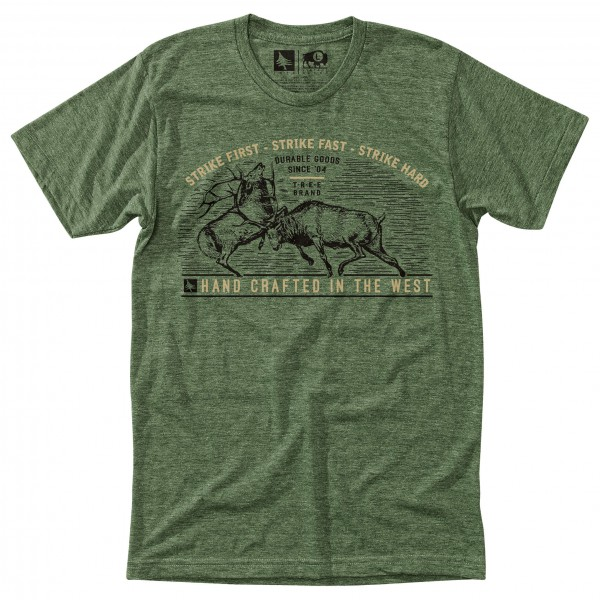 Hippy Tree - T-Shirt Whitetail - T-paidat