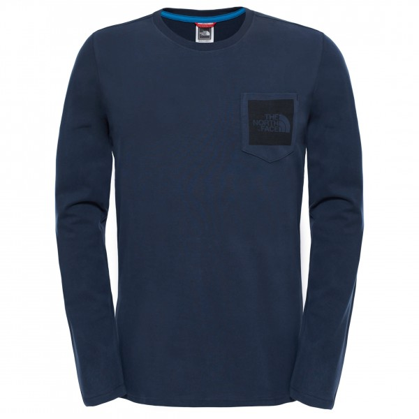 The North Face - L/S Fine Pocket Tee - Longsleeve