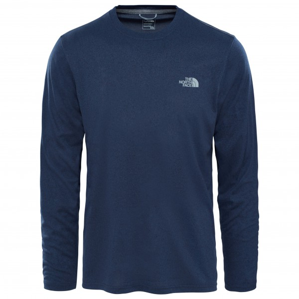 The North Face - Reaxion Amp L/S Crew - Joggingshirt