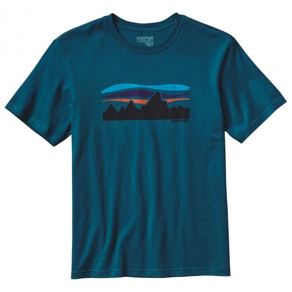 Patagonia - Fitz Roy Banner Cotton T-Shirt - T-paidat