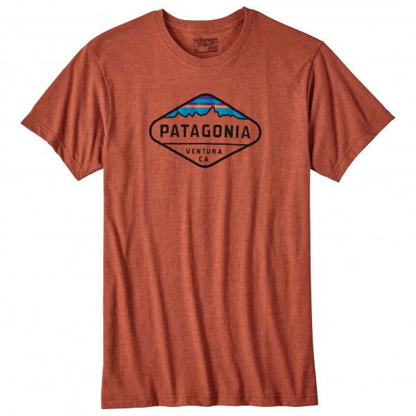 Patagonia - Fitz Roy Crest Cotton/Poly T-Shirt - T-paidat