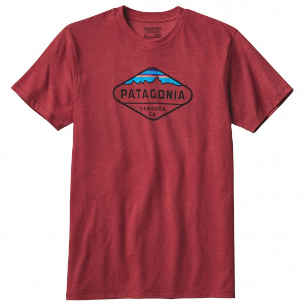 Patagonia - Fitz Roy Crest Cotton/Poly T-Shirt - T-Shirt