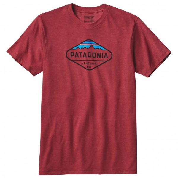 Patagonia - Fitz Roy Crest Cotton/Poly T-Shirt - T-skjorte