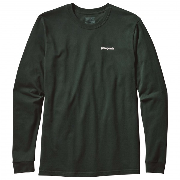 Patagonia - L/S P-6 Logo Cotton T-Shirt - Long-sleeve