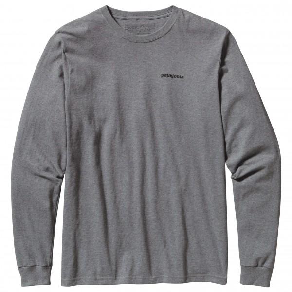 Patagonia - L/S P-6 Logo Cotton T-Shirt - Manches longues