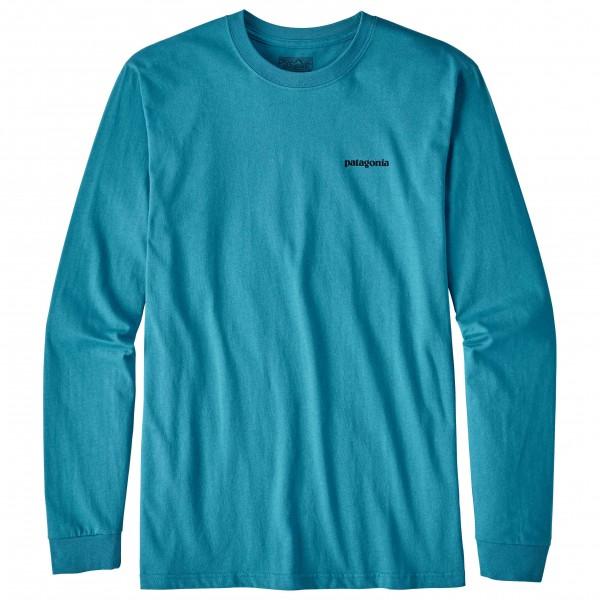 Patagonia - L/S P-6 Logo Cotton T-Shirt - Longsleeve