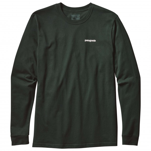 Patagonia - L/S P-6 Logo Cotton T-Shirt - Long-sleeve