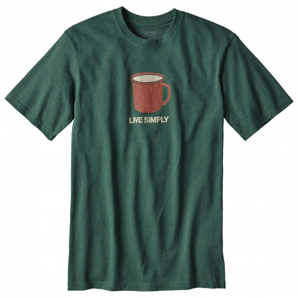 Patagonia - Live Simply Mornings Cott/Poly Responsibili-Tee