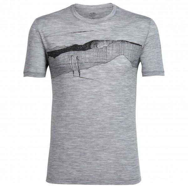 Icebreaker - Tech Lite S/S Crewe Spanish Plunder - T-shirt