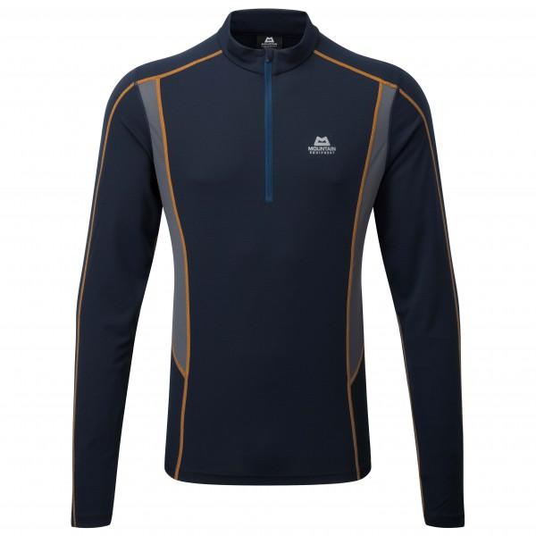 Mountain Equipment - Crux L/S Zip Tee - Running shirt