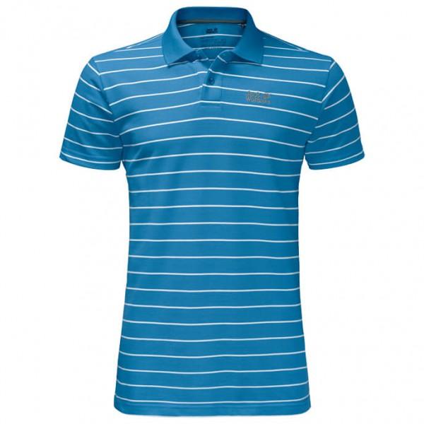 Jack Wolfskin - Pique Striped Polo - Polo shirt