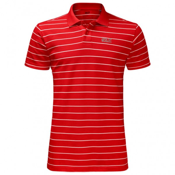 Jack Wolfskin - Pique Striped Polo - Polo shirt