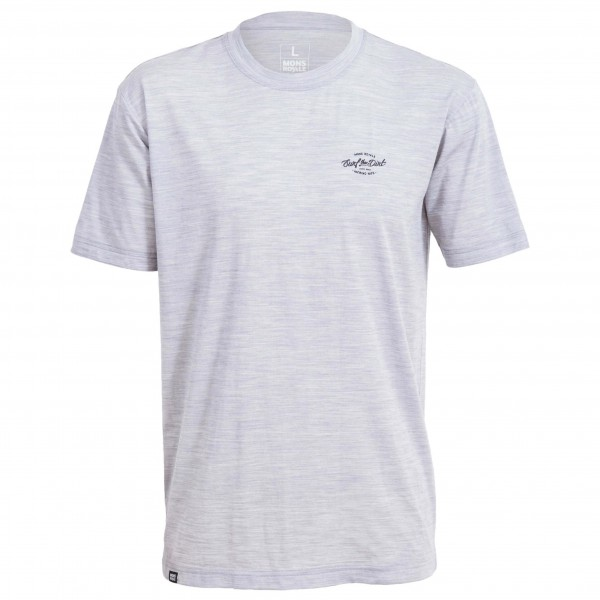 Mons Royale - Icon T-Shirt Dirt Small - Functional shirt