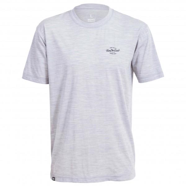 Mons Royale - Icon T-Shirt Dirt Small - Sport-T-shirt