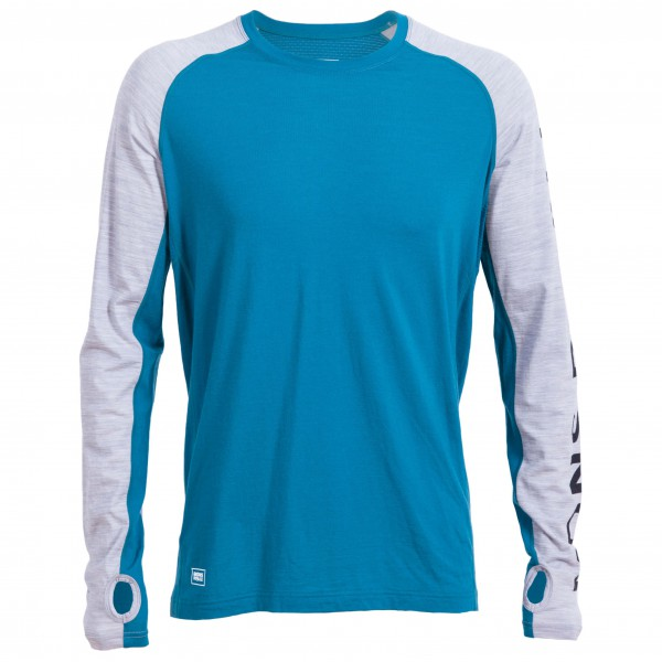 Mons Royale - Temple Tech L/S Geo - Functional shirt