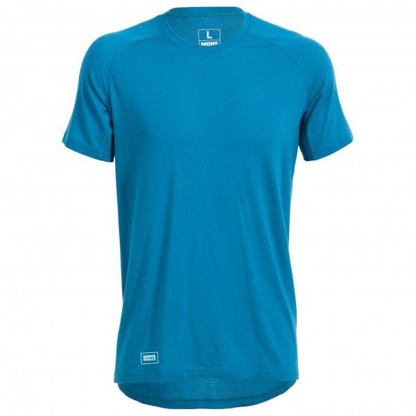 Mons Royale - Temple Tech T-Shirt Geo - Sportshirt