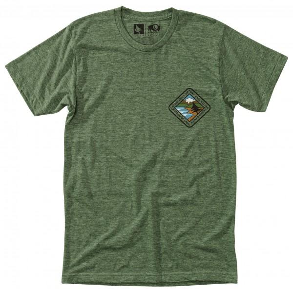 Hippy Tree - Landmass Tee - T-shirt