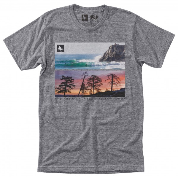 Hippy Tree - Seapoint Tee - T-shirt