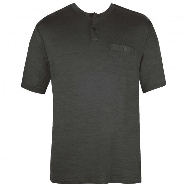 Alchemy Equipment - 150GSM Cotton Tech S/S Henley - T-shirt