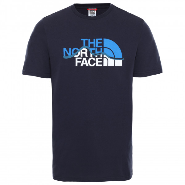 The North Face - S/s Mountain Line Tee - T-Shirt