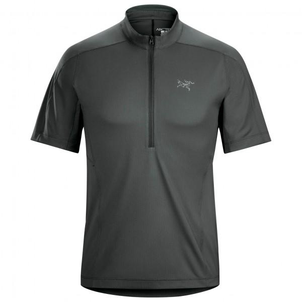 Arc'teryx - Velox Zip Neck S/S - T-paidat