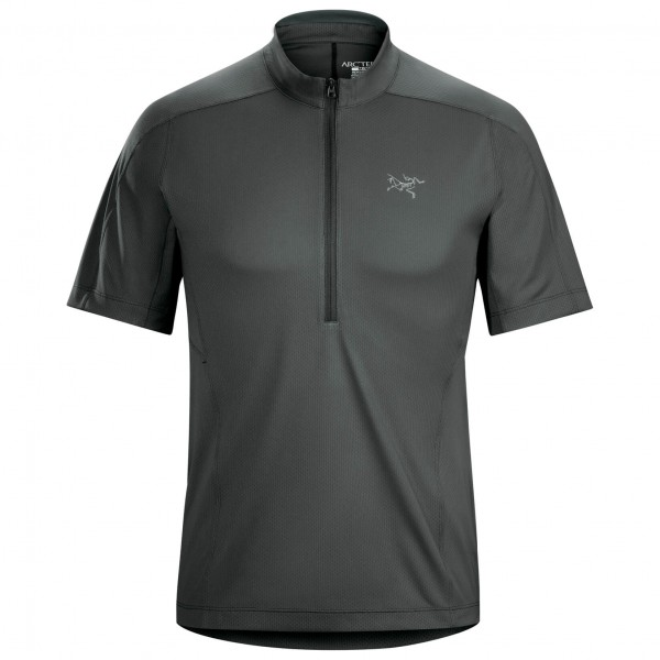 Arc'teryx - Velox Zip Neck S/S - T-shirt