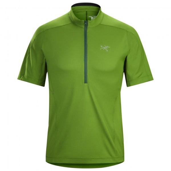 Arc'teryx - Velox Zip Neck S/S - T-skjorte