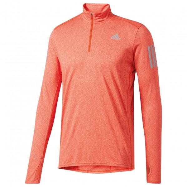 adidas - Response 1/2Zip Long Sleeve Tee - Joggingshirt