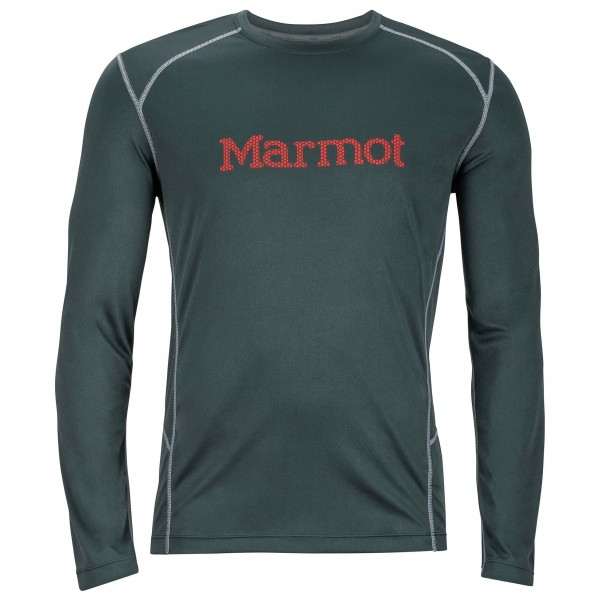 Marmot - Windridge with Graphic L/S - Joggingshirt