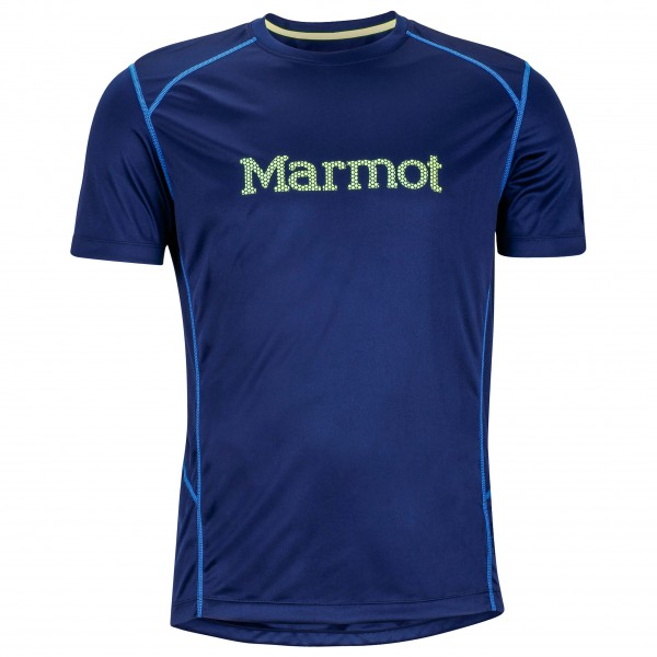 Marmot - Windridge with Graphic S/S - Running shirt