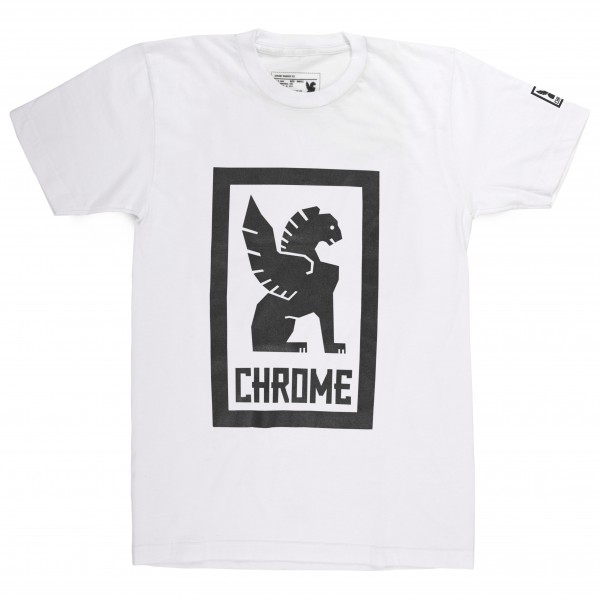 Chrome - Large Lock Up Tee - T-Shirt