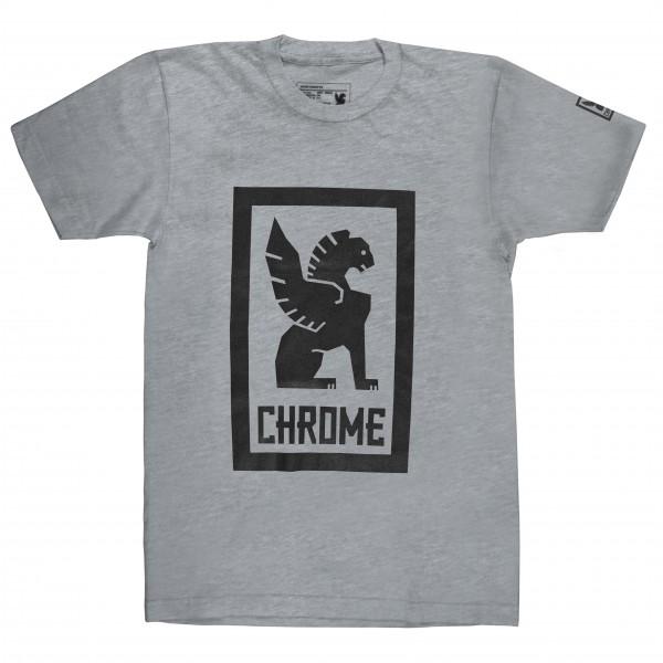 Chrome - Large Lock Up Tee - Camiseta de manga corta